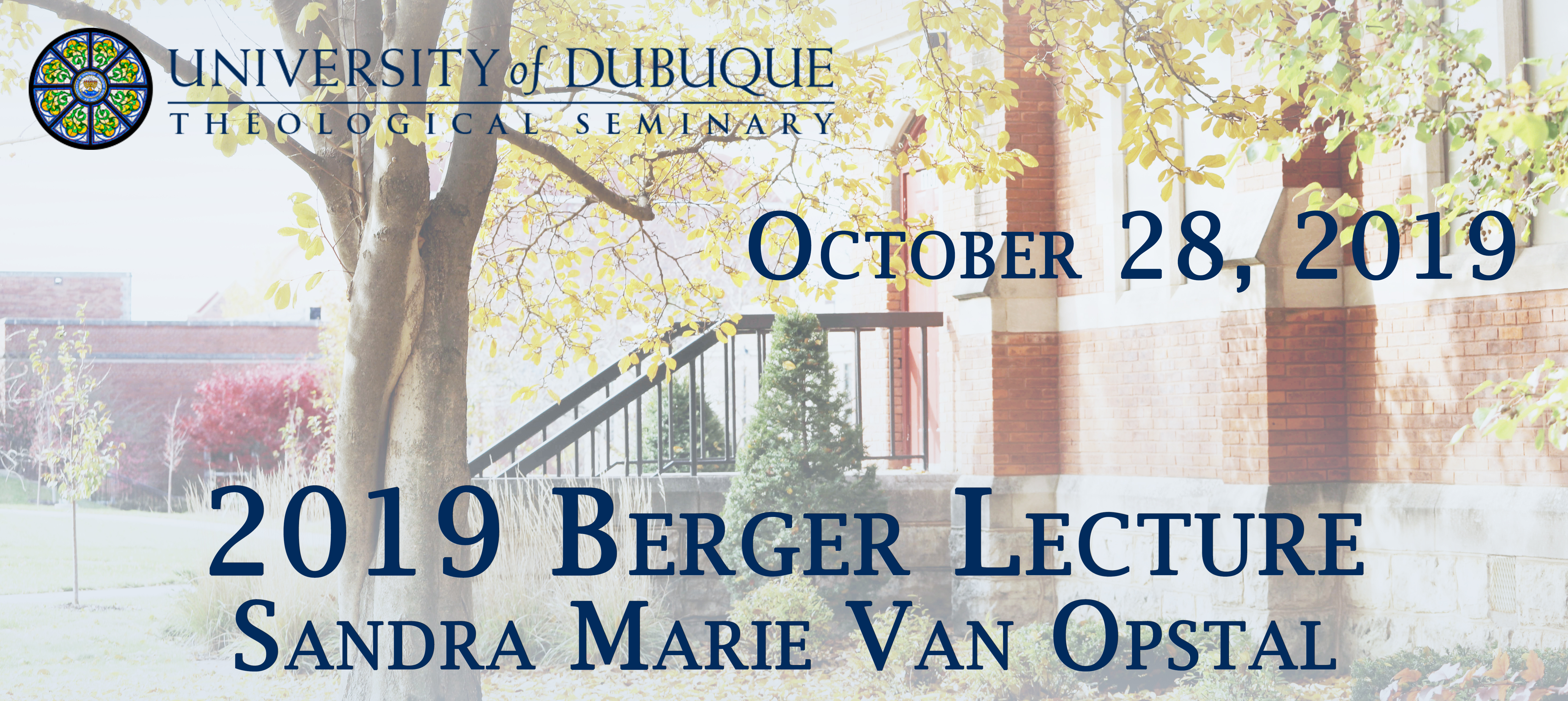 Berger Lecture October 28th, 2019